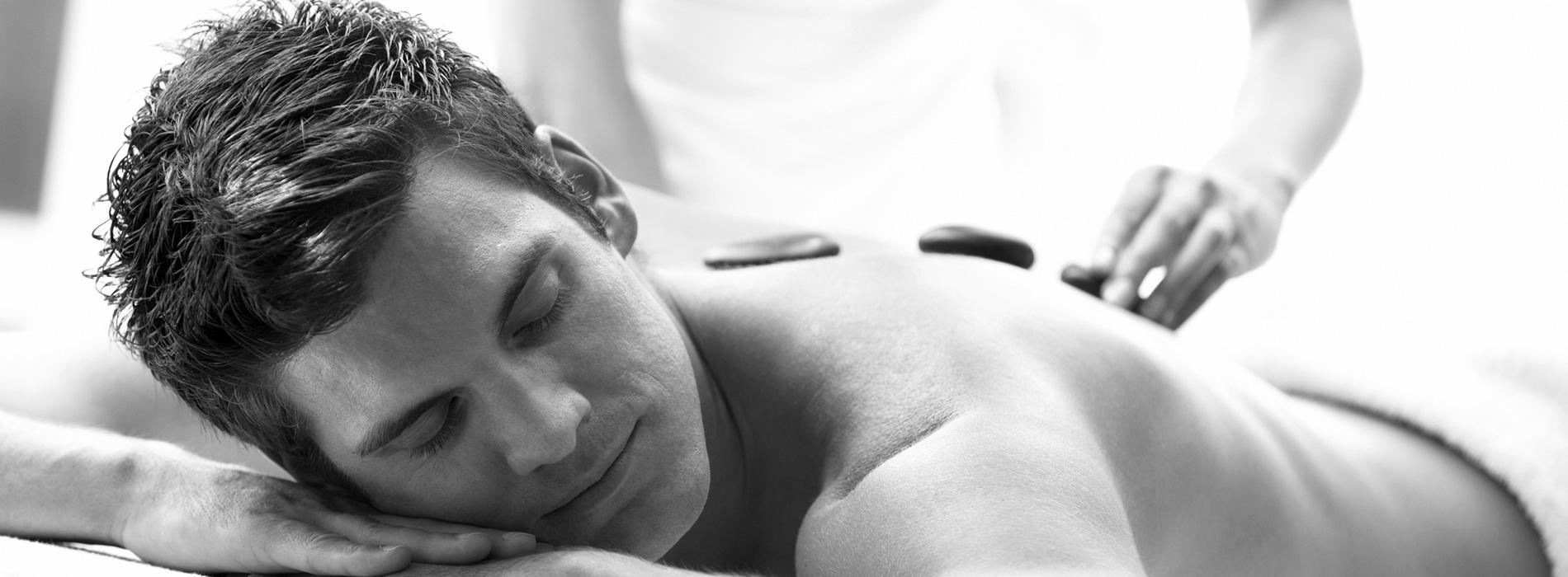 Hot gay men massage